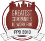 2013 Greatest Companies to Work For